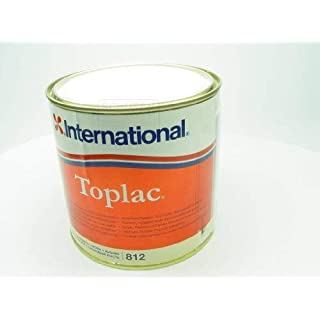 International Boat High Gloss Durable Yacht Paint Toplac 750 ml Brand New (Ivory)