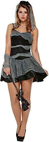 Corpse Bride Sexy Halloween Horror Unheimlich Kostüm Kleid Outfit 8-12 ()