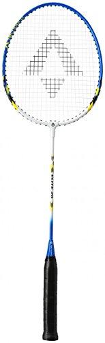 Tecnopro Elite 20 Badminton-Schläger, Blau/Gelb/Weiss, One Size