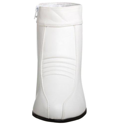Pleaser Pimp-50, Bottes Classiques Homme Blanc (White)