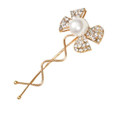 Diamant Fashion Bow Hairpin Coiffe de 3 Pcs Lady