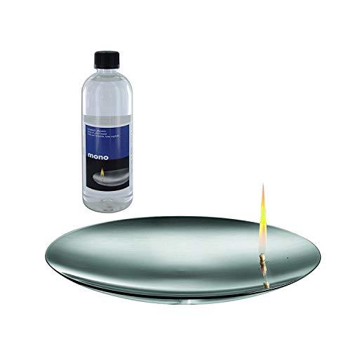 mono Concave 20 Flammschale und Bio Lampenöl