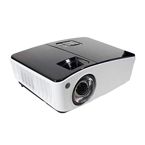 MFWFR Proiettore Portatile, Videoproiettore con 3600 Lux e Full HD 1080p, Display da 30'-300' e Durata della Lampada di 4000 Ore, Compatibile con USB/HD/SD/Av/VGA per Home Theater