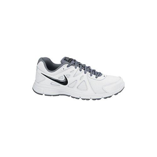 Nike Revolution 2 Msl, Scarpe Sportive-Running Uomo Bianco/Grigio/Nero