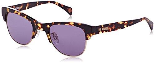 Moschino Damen Eye Sonnenbrille, Braun (Havana), 50
