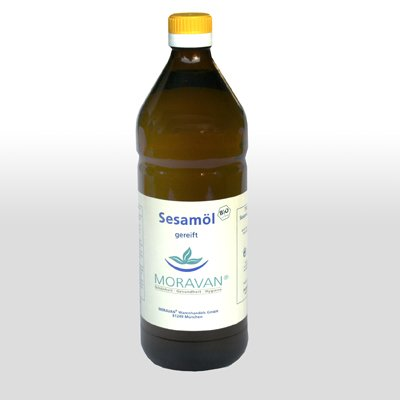 Preisvergleich Produktbild Moravan Sesamöl gereift 750 ml aus kontrolliert biologischem Anbau