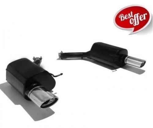 v-maxzone ulter120Sport Schalldämpfer Custom Made Dedicated Auspuff Tipp 120x 80mm