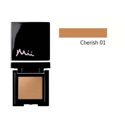 Mii Cosmetics Bronzepuder für das Gesicht, für natürlichen Glanz, Farbton Cherish 01, 8,5g (Bronze Pressed Bronzer)
