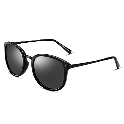 Ppy778 Unisex-Sonnenbrille rundes Metall (Color : C)