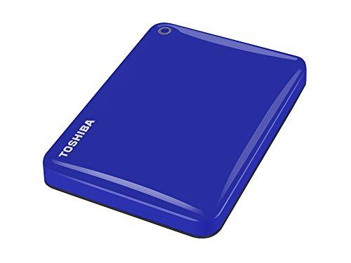 Toshiba Canvio Connect II 3 TB Mobile Festplatten (6,4 cm (2,5 Zoll) USB 3.0) blau