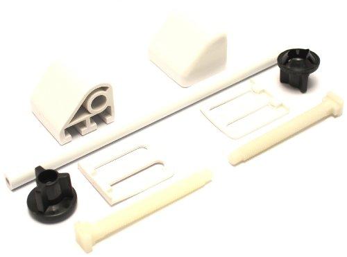 Plumb-Pak Scharnier für Toilettensitz, Weiß