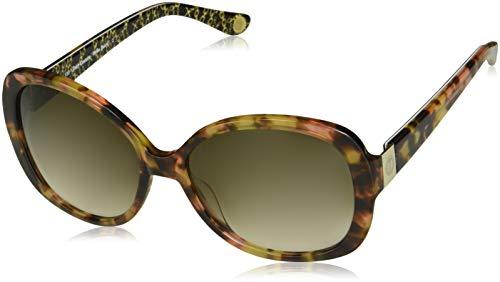 Juicy Couture Damen JU 583/S CC S1H Sonnenbrille, Pink Havana/Brown Sf, 57