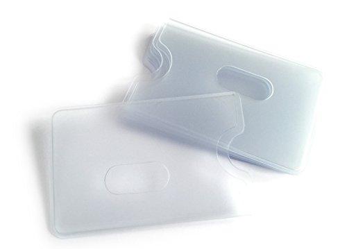 Kreditkartenhülle (12er Pack), Hülle zum Schutz von Kreditkarte, EC Karte, Bankkarte, Ausweis, Visitenkarte vor Kratzern und Verschmutzung