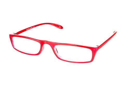 I NEED YOU gafas de lectura Florida SPH: 2.50 Color: rojo coral