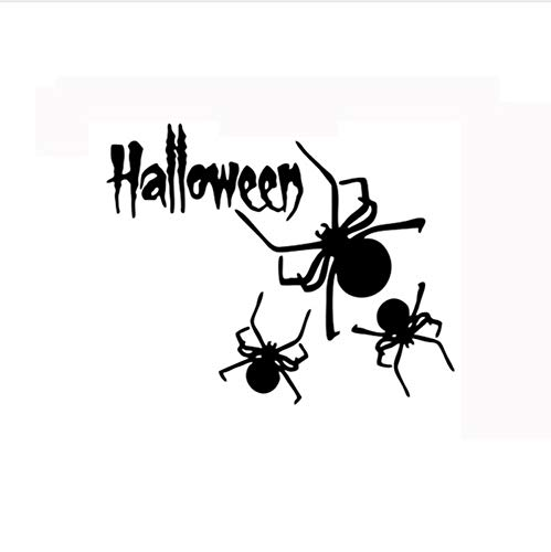 YUSHANGG Wall Stickers 2017 Promotion Halloween Happy Home Home Wall Stickers Mural Decorative Decals Removable New57 * 36Cm