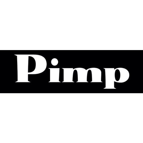 Pimp Aufkleber