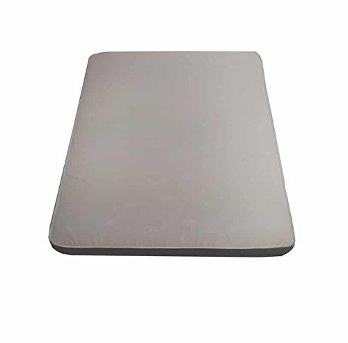 Flexar Poly 10Wasserschaum-Matratze (Polyurethan) 135X195 bianco Therapeutische Matratze