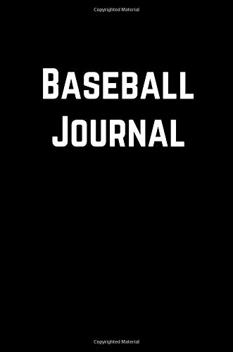 Baseball Journal: 100 Page Lined Journal Paper Notebook for Friends Funny Note Taking Book | Cute Gift por MSquared Designs