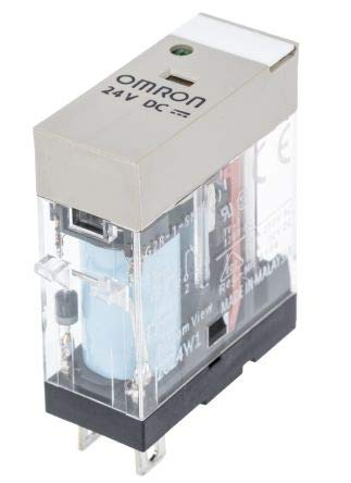Relais Omron, 6 A SPDT, 24 V DC, Plug In G2R1SND24DCS Omron Plug-in