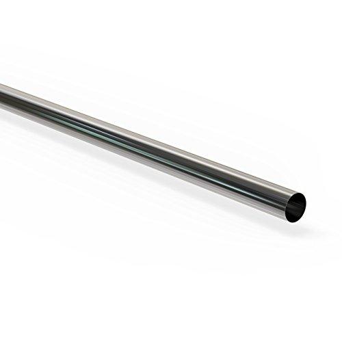 Preisvergleich Produktbild 100 cm Universal Auspuffrohr Ø 45 mm Abgasrohr Rohr Abgasanlage Pkw - Lkw
