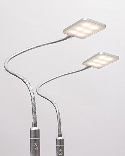 4W LED Bettleuchte Leseleuchte Flexleuchte Nachttischlampe Bettlampe Leselampe …