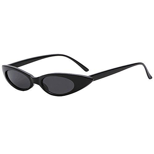 Battnot☀  Sonnenbrille für Damen Herren, Vintage Unisex Clout Mode Rapper Oval Shades Grunge Rahmen Anti-UV Gläser Sonnenbrillen Schutzbrillen Männer Frauen Retro Billig Sunglasses Women Eyewear