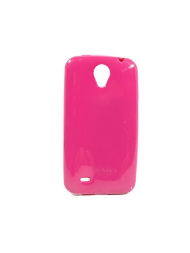 iCandy™ Colorfull Thin Soft TPU Back Cover For Karbonn Smart Plus A51 - Raspberry  available at amazon for Rs.109