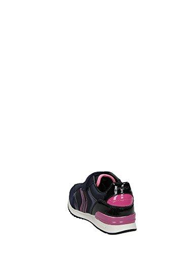 Geox J Maisie Girl A, Scarpe da Ginnastica Basse Bambina Blu
