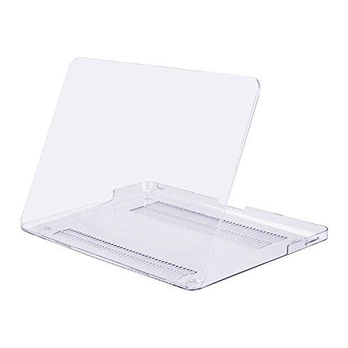 MOSISO Funda Dura Compatible Old MacBook Pro 13 Pulgadas con CD-ROM A1278 (Versión 2012/2011/2010/2009/2008), Carcasa Rígida Protector de Plástico Cubierta, Claro/Cristal