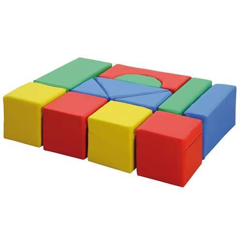 Erzi Maxi Soft Blocks Holzspielzeug, 76 x 57 x 19 cm (Große Schaumstoff-blöcke)
