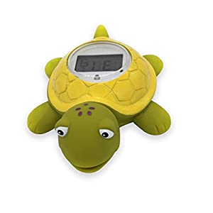 Digital Bath Thermometer Room Thermometer BPA Free Waterproof Floating Baby Toy Turtle