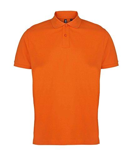 Herren-Polo-Hemd von Asquith und Fox - 24 Farben / Größe SML-3XL Orange