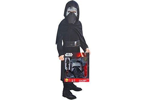 Material Kostüm Ren Kylo (Star Wars Kylo Ren Kinder Karneval Kostüm 7 - 8 Jahre Gr.)