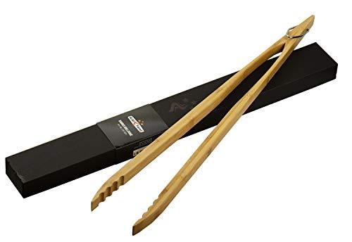 Grillfürst Grillzange Bambus, 60cm extralang