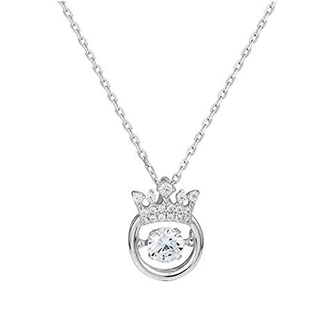 Bracelet en argent sterling 925 Collier élégant et simple en