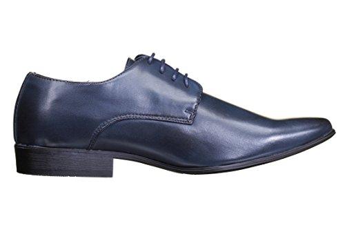 Galax Chaussure Derbie Gh2019 Navy Bleu