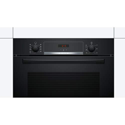 31%2BCUYE4DCL. SS500  - Bosch HBS534BB0B Serie 4 Multifunction Electric Built-in Single Oven - Black