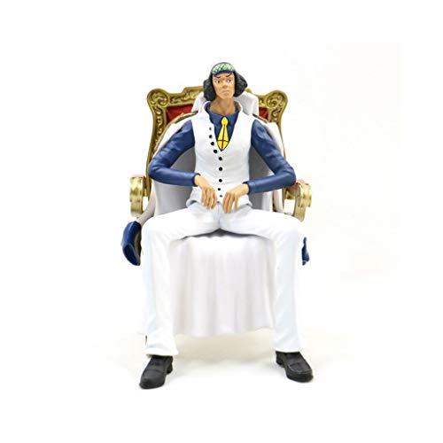 LJJOO Navy General Anime Statue Skulptur Charakter Modell 16 cm Für Hobby Desktop Dekoration Sammlung Dekoration Geburtstagsgeschenk Toy (Tv Figur Kostüme Für Verkauf)
