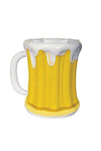 Jarra de cerveza grande inflable octubre para bebidas siempre frescas
