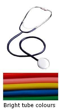 Access Diagnostic Tests Einzelkopf Stethoskop für Pflegepersonal, Rosa