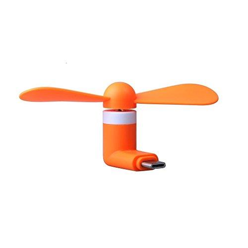 I-Sonite (orange Mobile Handy-beweglichen Taschen-Sized Lüfterzubehör Micro-USB-Anschluss für Motorola Moto G (3rd Gen) 3rd Gen Fall