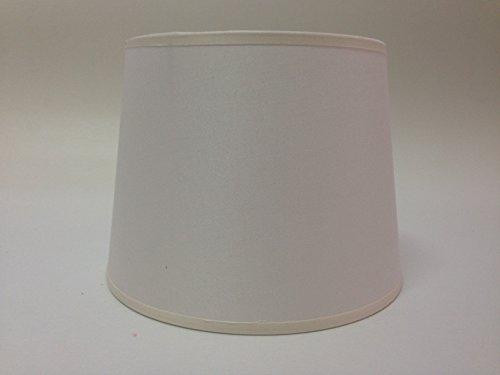 20,3 cm Empire Ivoire Tissu de coton Abat-jour lumière Abat-jour Table fait à la main.