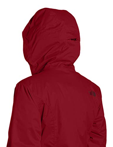 THE NORTH FACE Damen Quest Thermojacke Jacke, Rumba Red, XL - 3