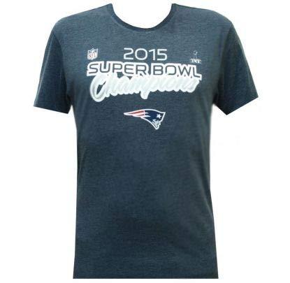 New Era New England Patriots 2015 Super Bowl XLIX Champions NFL T-Shirt S