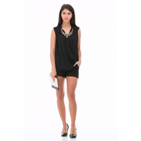 top-schwarz-drapierung-kragen-schmuck-damen-gr-s-schwarz-schwarz