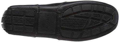 Rockport Oaklawn Park Penny, Chaussures Bateau Homme Noir - Noir