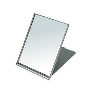 SIBEL Small folding make-up/Shaving mirror - Silver