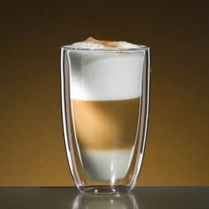 bloomix latte macchiato glas 340 ml doppelwandig thermoglas k che haushalt. Black Bedroom Furniture Sets. Home Design Ideas