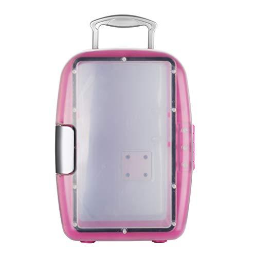 GXFC Elektrische DC/AC-Kühl- oder Kühlbox mit 7 Liter Fassungsvermögen - Für Camping, Picknicks und Festivals