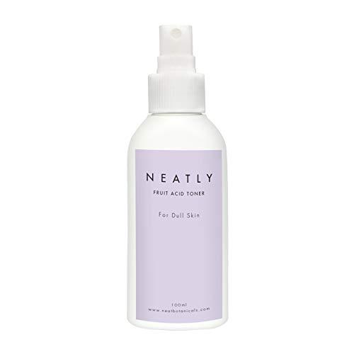 Fruchtsäurepeeling für trockene Haut NEATLY I 100 ml I Gesichtswasser für damen I Antipickel mit ätherische öle I Alternative zur gesichtsmaske